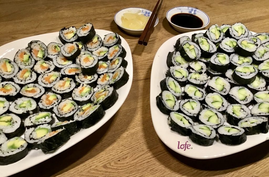 Sushi (vegan, of course ;-)